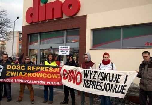 ZSP-IAA: Arbeitskampf beim Supermarkt DINO