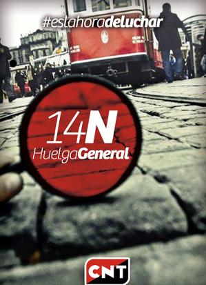 Zeit zu kämpfen! Generalstreik am 14.11.