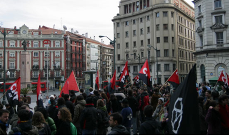 Demo in Bilbao