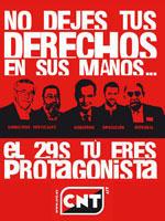 Generalstreik-Aufruf CNT-IAA 2011
