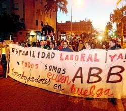 Solidaritätsdemonstration 2011