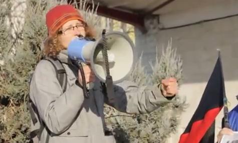ARS-Kundgebung gegen Bahnreform 2015
