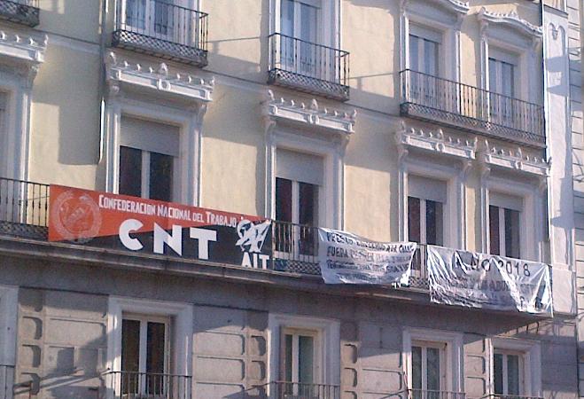 Gewerkschaftshaus der CNT-IAA Madrid