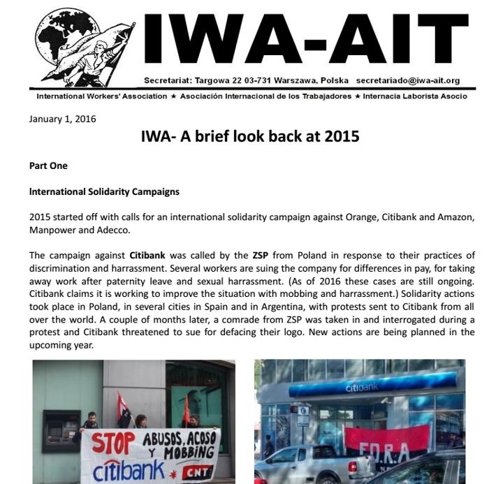 IAA Jahresrückblick 2015 (Cover)