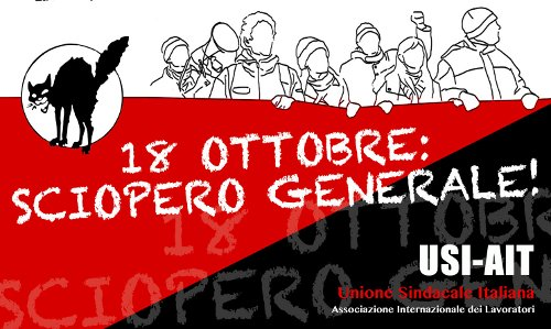 Generalstreik Italien 18.10.2013