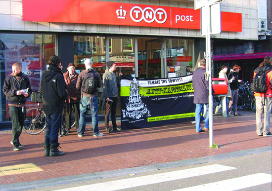 Solidaritätskundgebung in Nijmegen