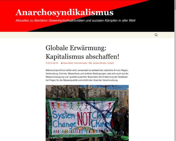 neue Adresse: anarchosyndikalismus.blackblogs.org