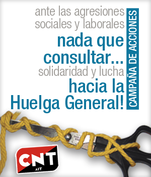 Aufruf der CNT-IAA zum Generalstreik (2012)