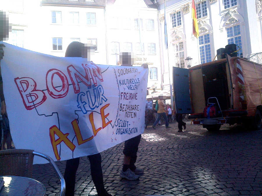 "Demonstration ""Bonn fuer alle!\"", 13.10.2018"