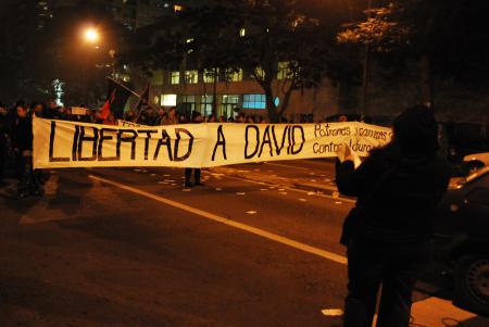 Solidaritätskundgebung in Uruguay