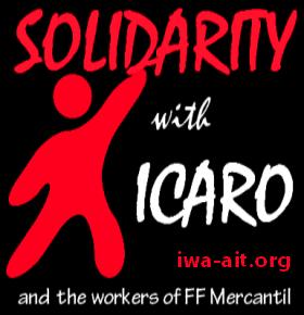 COB: Solidarität mit Icaro!