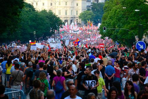 Madrid 19. Juli 2012