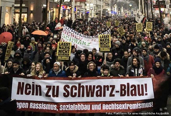 Wien: Nein zu Schwarz-Blau (13.01.2018)