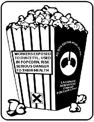 Popcorn-Lunge