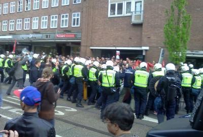Erster Mai 2012 in Amsterdam