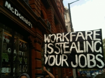 Workfare is stealing our jobs!